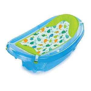 Summer Infant Bath Tub Sparkle N Splash Blue