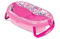 Summer Infant EasyStore Comfort Tub, Pink