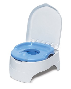 Summer Infant All in One Potty Seat and Step & Stool Blue