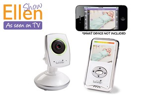 Summer Infant Baby Zoom� WiFi Video Monitor & Internet Viewing System I