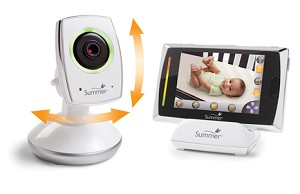 Summer Infant Baby Touch� WiFi Video Monitor & Internet Viewing System