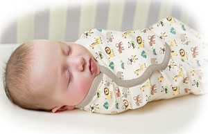 Summer Infant SwaddleMe� Organic Cotton Small/Medium 2-Pack (Zoo and Sage)