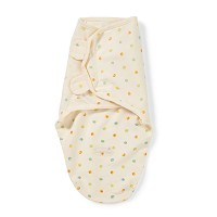 Summer Infant SwaddleMe® Organic Cotton Small/Medium, Dots on Ivory