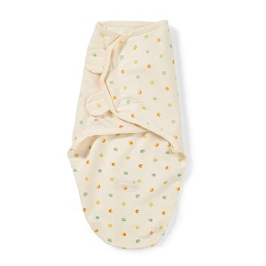 Summer Infant SwaddleMe� Organic Cotton Small/Medium, Dots on Ivory