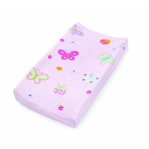 Summer Infant Plush Pals Changing Pad Cover (Butterfly Ladybug)