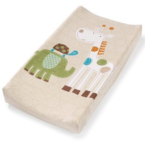 Summer Infant Plush Pals Safari Changing Pad Cover