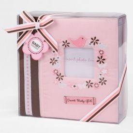 Baby Essentials Sweet Start Photo Album Pink