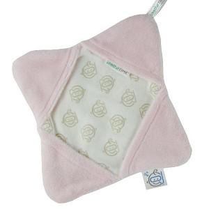 Triboro Soothe Time Splash Cloth in Pink