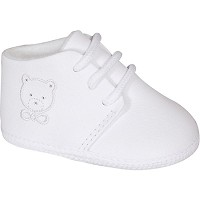 Baby Deer White Leather Infant Boy's Hi-Top