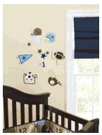 Just Born Touchdown Wall Decals