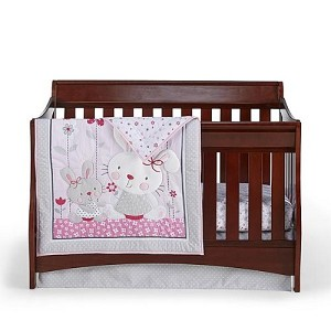 Cuddle Time Bella Bunny 4-Pc Bedding set