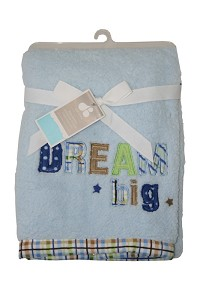 "Just Born ""Dream Big"" Valboa Blanket"
