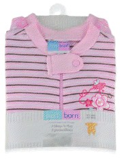 2PK Sleep & Play 0-3mth (Pink)