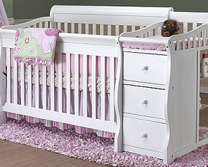 Tuscany Crib and Bed Changer