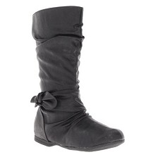 Rachel Calista Girls Boot in Black