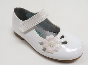 Rachel Christa Shoe in White Patent