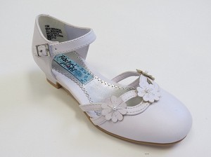Rachel Miranda Shoe in White Smooth