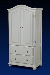 Sorelle Vista Armoire in French White