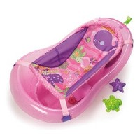Fisher Price Bath Center Pink Sparkles