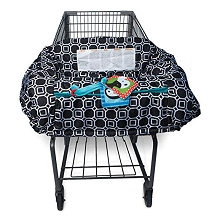 Boppy Shopping Cart Cover, City Squares