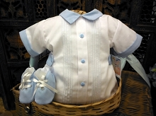 Will'beth Baby Boy Set Newborn