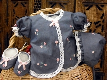 Will'beth Sweet Denim Baby 4-Pieces Set