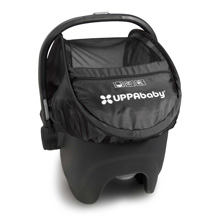 Uppababy Cabana Sunshade for Infant Car Seat Jake (Black)