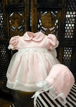 Will'beth Baby Dress with Bonnet