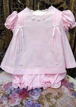 Will'beth Baby Dress Pink