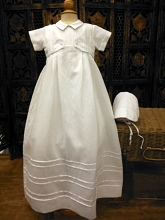 Will'beth Christening Gown 2-in 1 Boy