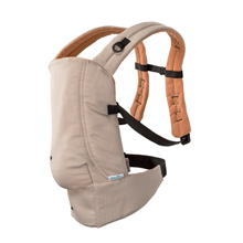 Evenflo Natural Fit Soft Carrier Khaki-Orange
