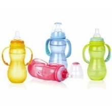 Nuby Non-Drip™ Bottles 11oz - 3 Pack