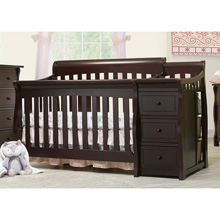 Sorelle Princeton Elite Crib and Change in Espresso