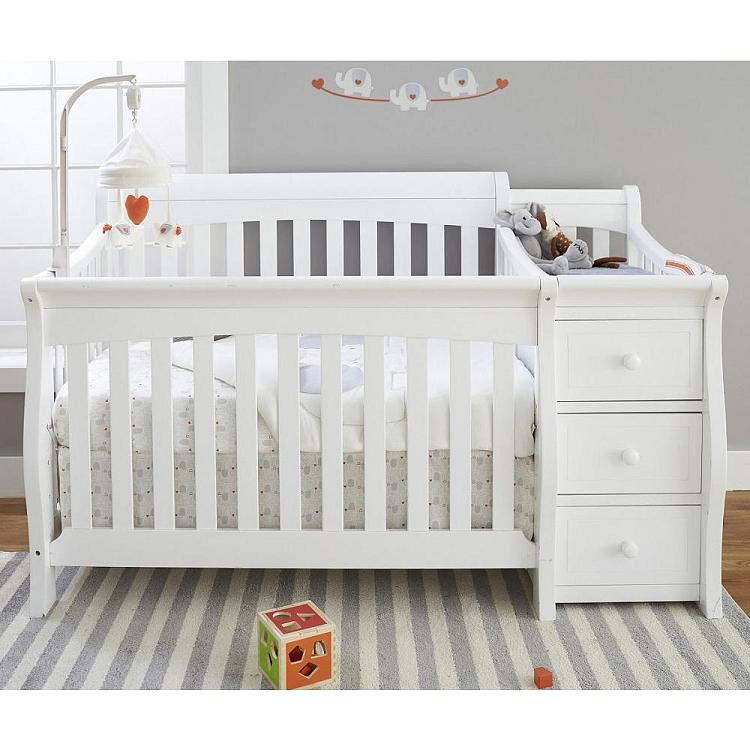 Sorelle Furniture Princeton Elite White