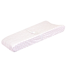 Just Born Dream Changing Pad Cover White-Pink