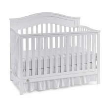 Fisher Price® Aubree Convertible Crib Snow White