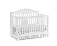 Fisher Price® Mia Convertible Crib in Snow White