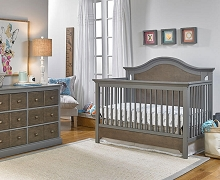 Ti Amo Catania Convertible Crib Slate Brown