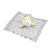 Cudle Time Security Plush Blanket Giraffe in Yellow