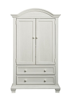 Oxford Baby Cottage Cove Armoire in Vintage White