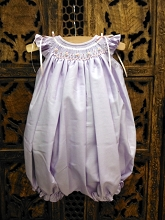 Willbeth Lavender Pink Smocked Bubble