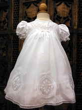 Will'beth Baby Dress Teardrop White