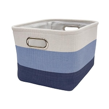 Lambs & Ivy Blue Ombre Storage Container