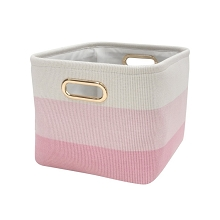 Lambs & Ivy Pink Ombre Storage Container