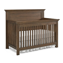 Dolce Babi Lucca Flat Top Convertible Crib Weathered Brown