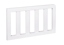 Delta Toddler Guard Rail Rustic Bianca White