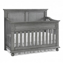 Dolce Babi Naples Full Panel Convertible Nantucket Grey