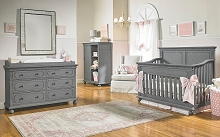 Dolce Babi Naples Furniture Set Nantucket Grey