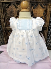 Willbeth Baby 2 Pieces Dress White-Blue
