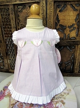 Willbeth Tulip Dress Set Lavender
